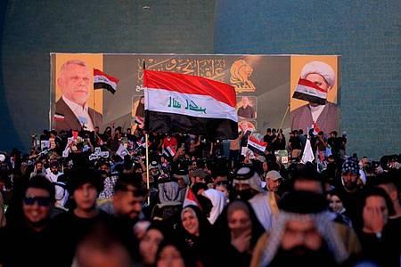 Bei der Parlamentswahl im Irak sind Zwischenfälle nicht ausgeschlossen. Foto: Hadi Mizban/AP/dpa