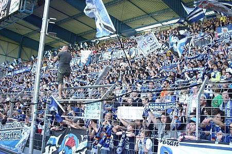 Fans von Arminia Bielefeld