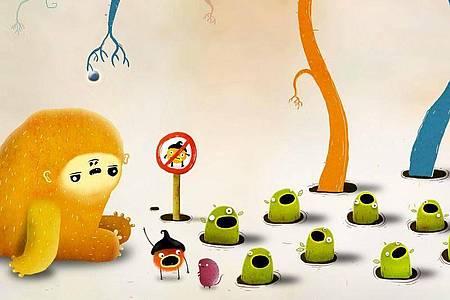 «Chuchel» kann man zwar nicht direkt gemeinsam spielen, dafür können aber alle Zuschauer beim Finden der Lösung helfen. Foto: Amanita Games/dpa-tmn