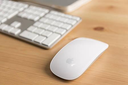Tastatur und Maus eines Macs