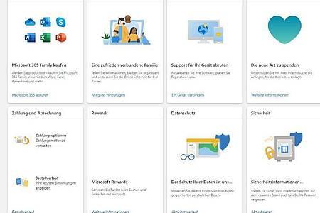 Bei Microsoft führt der Weg weg vom Passwort über die Verwaltungsseite des Microsoft-Kontos. Foto: Microsoft/account.microsoft.com/dpa-tmn