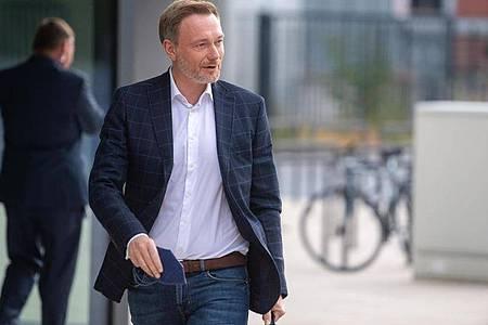 FDP-Chef Christian Lindner hat keine Zweifel daran, dass seine Partei mit SPDund Grünen verhandeln wird. Foto: Christophe Gateau/dpa