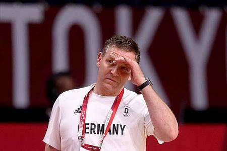 Verlor seine Frau an den Folgen einer Krebserkrankung: Handball-Bundestrainer Alfred Gislason. Foto: Jan Woitas/dpa-Zentralbild/dpa