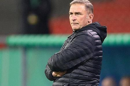Kuntz steht vor einem Engagement als Cheftrainer der türkischen Nationalmannschaft. Foto: Swen Pförtner/dpa