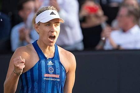 Angelique Kerber hat Top-Ten-Spielerin Jelina Switolina besiegt (Archivbild). Foto: Sebastian Gollnow/dpa