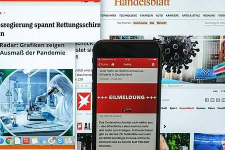 In Zeiten der Corona-Krise werden immer mehr digitale Angebote genutzt. Foto: Jens Kalaene/dpa-Zentralbild/dpa