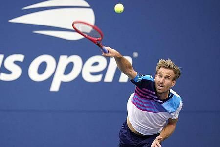 Bei den US Open ausgeschieden:Peter Gojowczyk. Foto: Frank Franklin Ii/AP/dpa