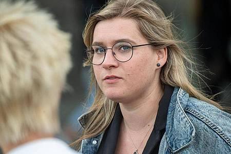 Anna Kassautzki von der SPD zieht für den Wahlkreis Vorpommern-Rügen - Vorpommern-Greifswald I in den Bundestag ein. Foto: Stefan Sauer/dpa
