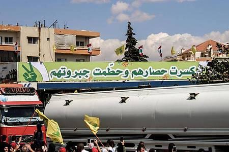 Zuletzt hatte Libanon unter anderem Öllieferungen aus dem Iran bekommen - dennoch ist Treibstoff seit Wochen knapp. Foto: Stringer/dpa