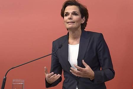 SPÖ-Chefin Pamela Rendi-Wagner. Foto: Herbert Pfarrhofer/APA/dpa/Archiv