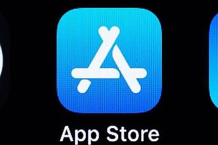 Der App Store auf einem iPhone. Foto: Silas Stein/dpa