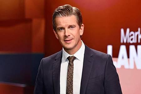 Markus Lanz ist für den Deutschen Fernsehpreis nominiert worden. Foto: Markus Hertrich/ZDF/dpa