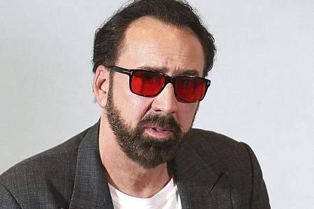 Nicolas Cage, Schauspieler aus den USA. Foto: Petros Karadjias/AP/dpa