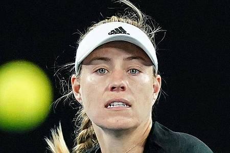 Bestritt ihr letztes Match im Januar bei den Australian Open: Angelique Kerber. Foto: Scott Barbour/AAP/dpa