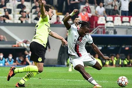 Stand gegen Besiktas wieder in der BVB-Startelf: Dortmunds Abwehrspieler Mats Hummels. Foto: Mustafa Alkac/dpa
