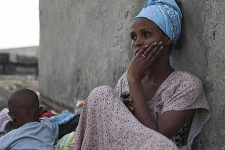 Flüchtlinge aus der äthiopischen Konfliktregion Tigray. Foto: Marwan Ali/AP/dpa