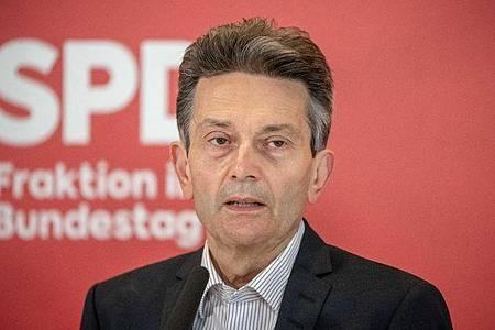 Rolf Mützenich bleibt Vorsitzender der SPD-Bundestagsfraktion. Foto: Michael Kappeler/dpa