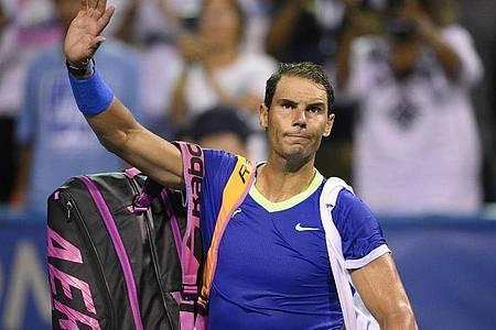 Auch Rafael Nadal wird seine Tennis-Saison beenden. Foto: Nick Wass/AP/dpa