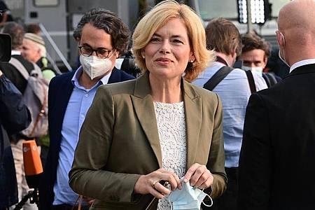 CDU-Bundesvize Julia Klöckner wird sich in ihrem Landesverband vom Vorsitz zurückziehen. Foto: Peter Kneffel/dpa