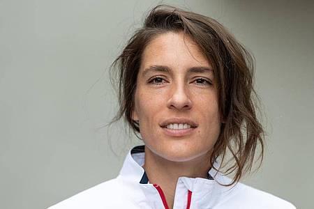 Zeigte sich von der Verlegung der French Open überrascht: Andrea Petkovic. Foto: Robert Michael/zb/dpa