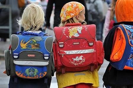 In Deutschland sollen bis 2030 mindestens 600.000 neue Ganztags-Plätze für Grundschulkinder geschaffen werden. Foto: dpa