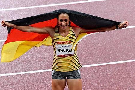 Holte eine weitere Paralympics-Medaille: Irmgard Bensusan. Foto: Karl-Josef Hildenbrand/dpa