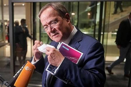CDU-Chef Armin Laschet steht nach der historischen Wahlschlappe der Union unter Druck. Foto: Kay Nietfeld/dpa