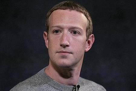 Mark Zuckerberg, Vorstandsvorsitzender von Facebook. Foto: Mark Lennihan/AP/dpa