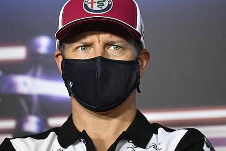 Verpasst das Rennen in Zandvoort: Kimi Räikkönen. Foto: Christian Bruna/Pool EPA/AP/dpa