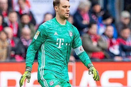 Der Vertrag von Manuel Neuer beim FC Bayern München endet am 30. Juni. Foto: Guido Kirchner/dpa
