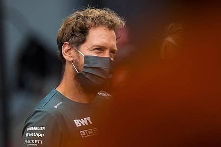 Erwischte keinen guten Start in Zandvoort: Sebastian Vettel. Foto: Francisco Seco/AP/dpa