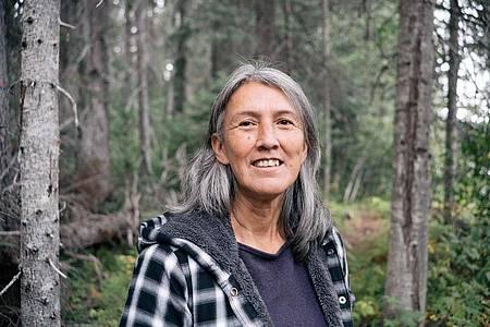 Freda Huson, kanadische Vorkämpferin für die Rechte von Ureinwohnern. Foto: Michael Toledano/Right Livelihood/dpa