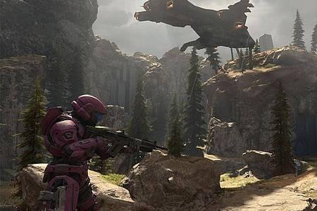 Veröffentlichungstermin steht nun fest: «Halo Infinite» für die Xbox kommt am 8. Dezember auf den Markt. Foto: Microsoft/dpa-tmn