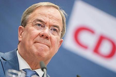 CDU-Chef Armin Laschet will der Parteispitze seine Pläne zur personellen und inhaltlichen Erneuerung nach dem historischen Desaster bei der Bundestagswahl präsentieren. Foto: Kay Nietfeld/dpa