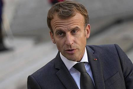 Frankreichs Präsident Emmanuel Macron. Foto: Francois Mori/AP/dpa