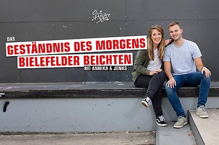 Morgen-Moderatoren Annika und Jonas