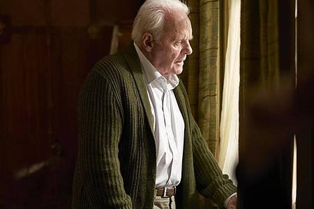 "Berührend:Anthony Hopkins in einer Szene des Films ""The Father"". Foto: Sean Gleason/Tobis Film/dpa"