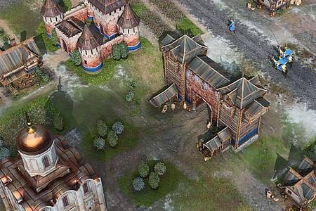 «Age of Empires IV» ist vom 28. Oktober an für PC-Spieler verfügbar. Foto: Microsoft/dpa-tmn