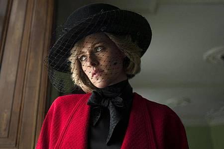 Kristen Stewart als Prinzessin Diana im Film «Spencer». Foto: KomplizenFilm/DCM/dpa