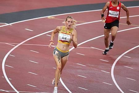 Lief in Weltrekordzeit zu Paralympics-Gold: Lindy Ave. Foto: Karl-Josef Hildenbrand/dpa