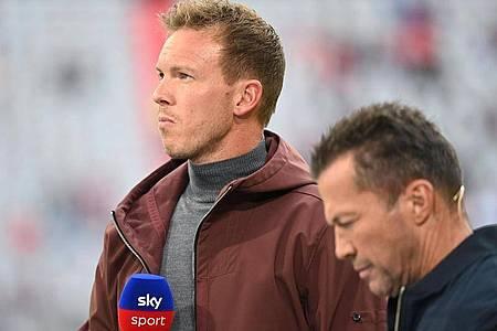 Bei seinem Trainer-Ranking hat Experte Lothar Matthäus dem neuen Bayern-Coach Julian Nagelsmann mit eins bewertet. Foto: Sven Hoppe/dpa