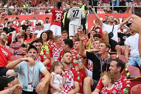 Der DFB ermittelt gegen den FSV Mainz 05. Foto: Torsten Silz/dpa