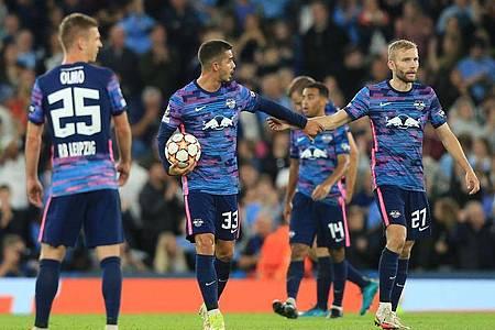 RB Leipzig steht gehörig unter Druck und muss am 5. Bundesliga-Spieltag liefern. Foto: Parnaby Lindsey/dpa