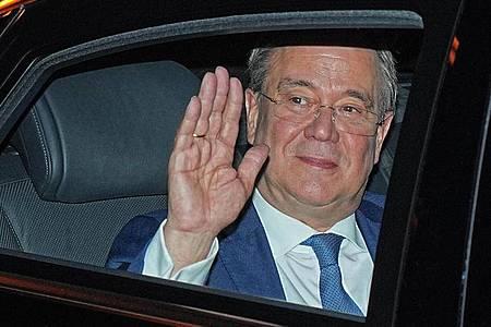 Armin Laschet nach der Bundestagswahl. Foto: Michael Kappeler/dpa