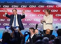 Armin Laschet und Angela Merkel treten heute in Laschets Heimatstadt Aachen auf. Foto: Sven Hoppe/dpa