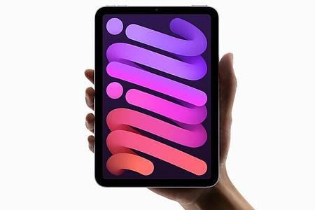 Das neue iPad Mini mit 8,3-Zoll-Display ist vollgestopft mit neuester Technik und wird vermutlich auch Gamer überzeugen (ab 549 Euro). Foto: Apple Inc./dpa-tmn