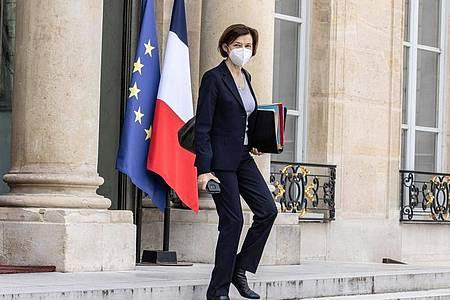 Die französische Verteidigungsministerin Florence Parly in Paris. Foto: Sadak Souici/Le Pictorium Agency via ZUMA/dpa
