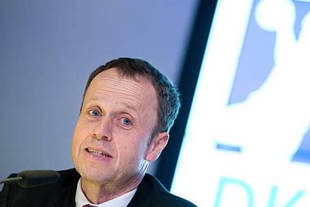 Der Geschäftsführer der Handball-Bundesliga: Frank Bohmann. Foto: picture alliance / Daniel Reinhardt/dpa