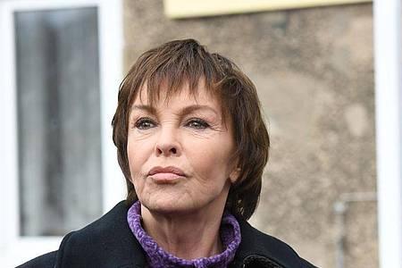 Die Schauspielerin Katrin Sass erzählt von ihrem Verhältnis zu Usedom. Foto: Stefan Sauer/dpa-Zentralbild/dpa