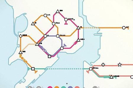Die Linien auf der Halbinsel und die auf dem Festland müssen schlau verbunden werden. Foto: Dinosaur Polo Club/dpa-tmn
